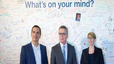 """Photo of دي ميزير يشدد على التعاون مع """"فيسبوك"""" لمكافحة خطاب الكراهية"""