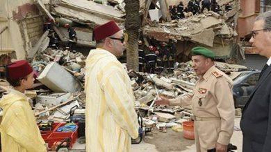 Photo of الملك محمد السادس يبعث برقيات تعازي ومواساة لأسر انهيار البناية  بسباتة