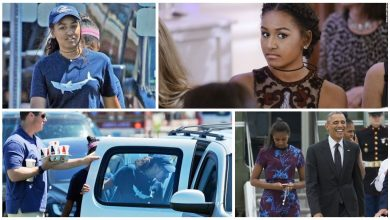 Photo of شاهد فيديو ابنة الرئيس الأمريكي أوباما تعمل نادلة خلال العطلة الصيفية