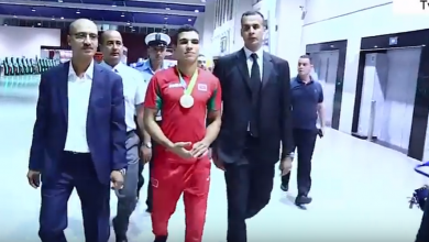 Photo of فيديو.. لحظة وصول البطل الربيعي إلى مطار محمد الخامس متوجا بالميدالية الوحيدة للمغرب