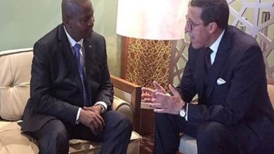 Photo of رئيس إفريقيا الوسطى يستقبل عمر هلال