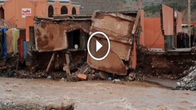 Photo of فيديو .. فيضانات خطيرة تجتاح منطقة أوريكة