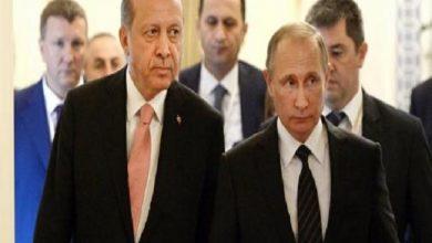 Photo of بوتين واردوغان يدعوان إلى تحسين العلاقات بين بلديهما