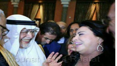 Photo of لطيفة رأفت تحتفل مع السعوديين بعيدهم الوطني