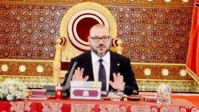Photo of هكذا ظهر الملك محمد السادس خلال المجلس الوزاري