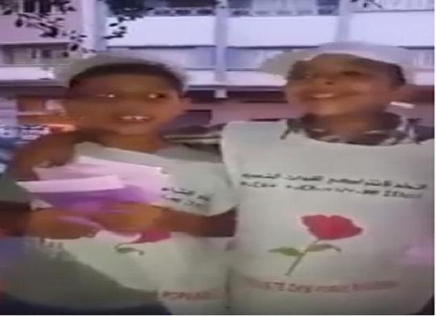 استغلال الأطفال في الحملات الإنتخابية