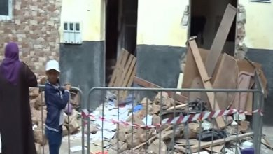 Photo of حصيلة حادث انفجار قنينة غاز صغيرة بحي العيون بدرب السلطان