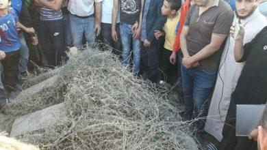 Photo of مقطع مؤثر من جنازة بائع السمك محسن فكري من الحسيمة