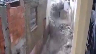 Photo of يا ربي السلامة … سيول الامطار تغرق مدينة فاس
