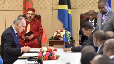 Photo of الملك محمد السادس ورئيس تانزانيا يترأسانيترأسان حفل التوقيع على 22 اتفاقية للتعاون