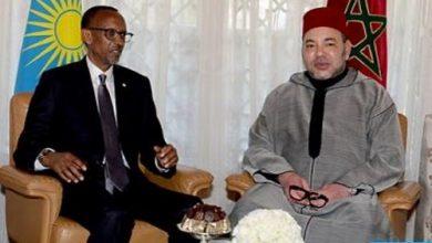 Photo of الملك محمد السادس والرئيس الرواندي يترأسان حفل التوقيع على 19 اتفاقية ثنائية