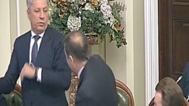 Photo of اشتباك عنيف في البرلمان الأوكراني