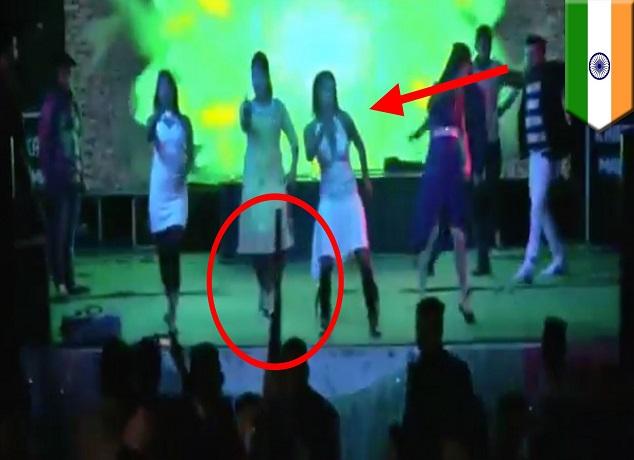 فيديو خطير نجل سياسي كبير يقتل امرأة رفضت الرقص معه