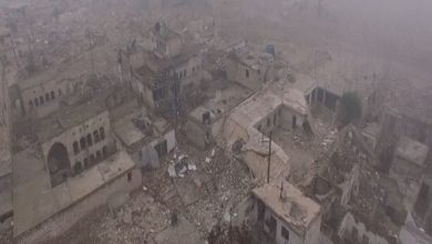 Photo of فيديو صادم التقطته طائرة دون طيار لأحياء حلب الشرقية