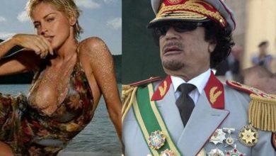 Photo of كيف مارس القذافي الجنس مع شارون ستون؟