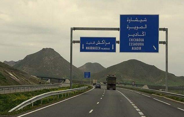 الطرق السيارة تعلن توقيف حركة السير عند مدخل مراكش في اتجاه الرباط