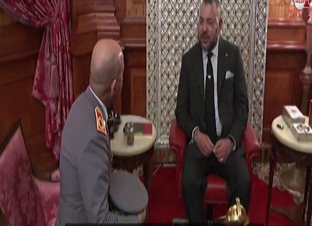 جلالة الملك يعين الجنرال عبد الفتاح الوراق مفتشا عاما للقوات المسلحة الملكية
