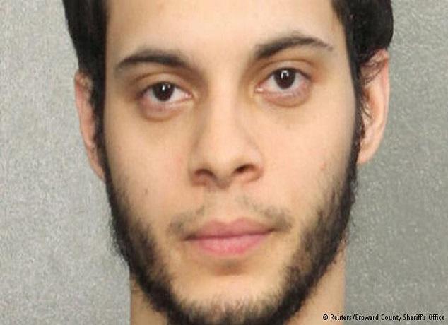 """فلوريدا: توجيه تهمة """"العمل العنيف"""" لمنفذ اعتداء المطار"""