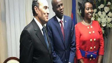 Photo of حبيب المالكي يمثل الملك محمد السادس في مراسيم تنصيب رئيس هايتي الجديد