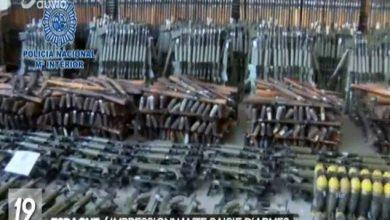 Photo of إسبانيا..العثور على أسلحة حربية في شحنة كبيرة ضبطت في يناير الماضي