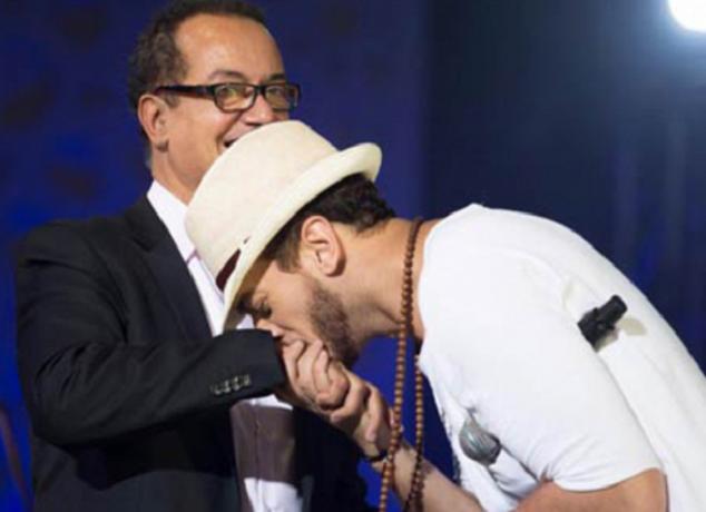 سعد لمجرد أشرف على أغنية والده الجديدة توحشناك