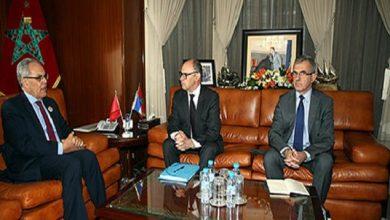Photo of الكاتب العام لإدارة وزارة الدفاع الفرنسية يقوم بزيارة عمل للمغرب