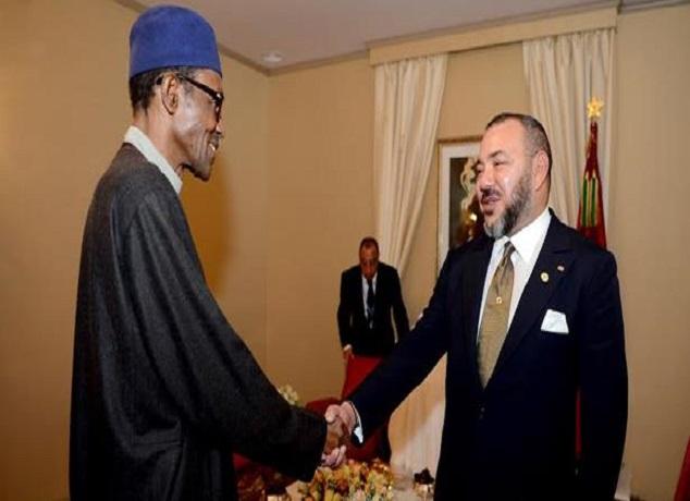 الملك محمد السادس يجري مباحثات هاتفية مع رئيس جمهورية نيجيريا الفدرالية