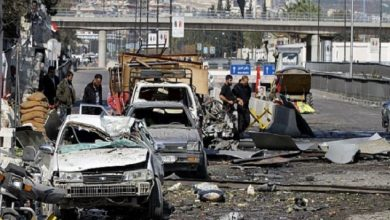 Photo of قتلى وجرحى في تفجيرين انتحاريين أحدهما استهدف قصر العدل بدمشق