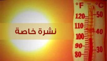 Photo of موجة حر بدرجات تتراوح بين 36 و 44 درجة، من الجمعة إلى الأحد في عدة مناطق بالمملكة