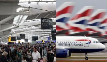 Photo of إلغاء رحلات الخطوط الجوية البريطانية من مطاري لندن بسبب عطل إلكتروني