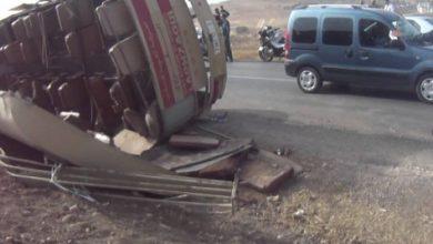 Photo of خنيفرة: مصرع 12 شخصا وإصابة 39 في حادثة انقلاب حافلة للمسافرين