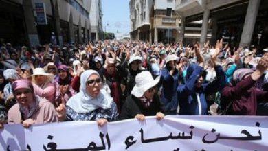"Photo of الرباط .. ما بين 12 ألف و 15 ألف من المتظاهرين ينظمون مسيرة تضامنا مع ""حراك الريف"""