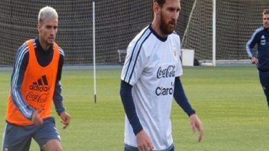 Photo of ميسي يشارك في أول تدريب للأرجنتين تحت قيادة سامباولي