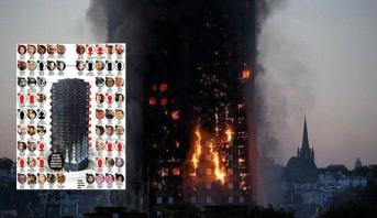 Photo of سبعة مواطنين مغاربة قد يكونون من بين المتوفين في حريق برج غريفيل بلندن
