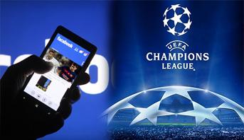 Photo of فيسبوك يحصل حصرياً على حقوق بث بعض مباريات دوري أبطال أوروبا القادم