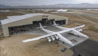 Photo of فيديو: الكشف عن أكبر طائرة في العالم .. حجمها يعادل ملعب كرة قدم