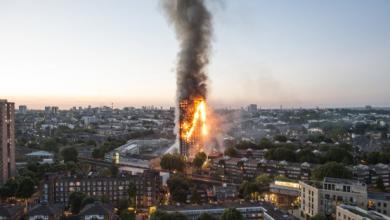Photo of حصيلة أولية لضحايا حريق برج لندن