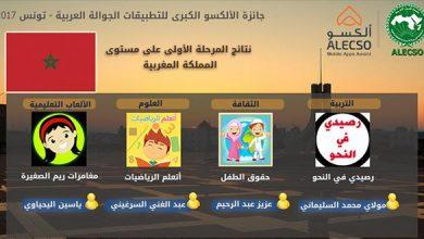 Photo of الإعلان عن نتائج مسابقة الألكسو الكبرى للتطبيقات الجوالة لعام 2017 على مستوى المغرب
