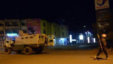 Photo of الرئيس الفرنسي يدين الهجوم على مطعم بواغادوغو