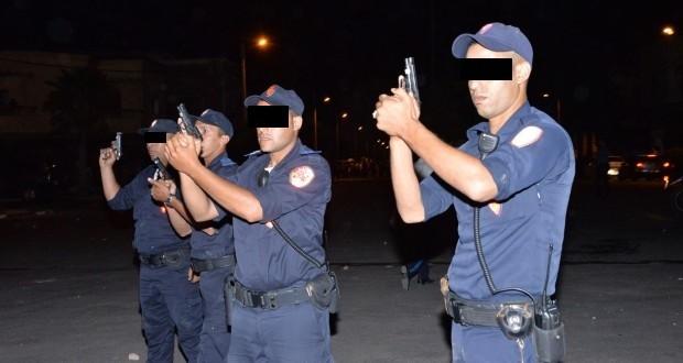 فاس: شرطي يضطر لإطلاق الرصاص لتوقيف شخص يشتبه في ارتكابه جريمة قتل