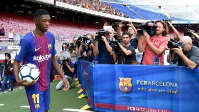 Photo of برشلونة يقدم ديمبيلي وسط حضور أكثر من 18 ألفا