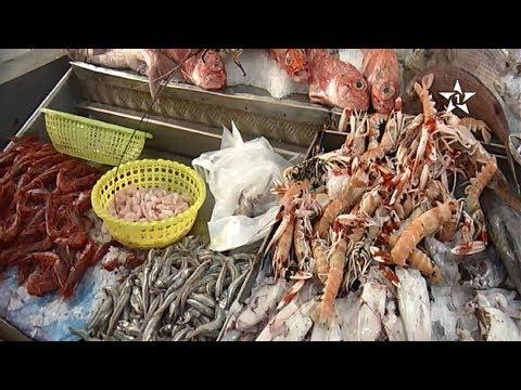 اقبال متزايد على شراء الأسماك قبيل عيد الأضحى