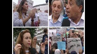 Photo of فيديو.. مظاهرات في المغرب تنديدا بتعرض فتاة لاعتداء جنسي جماعي في حافلة ركاب
