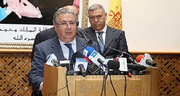 """وزير الداخلية الإسباني: التعاون بين الرباط ومدريد """" مستمر وصادق ومثمر"""""""