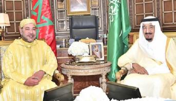 Photo of بالفيديو: الملك محمد السادس يقوم بزيارة صداقة ومجاملة لخادم الحرمين الشريفين بمقر إقامته بطنجة