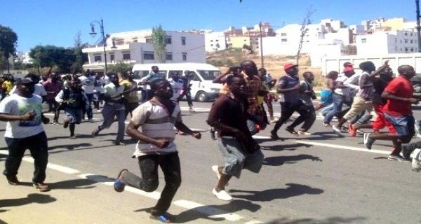 طنجة: مواجهة بين أفارقة وشباب مغاربة (فيديو)