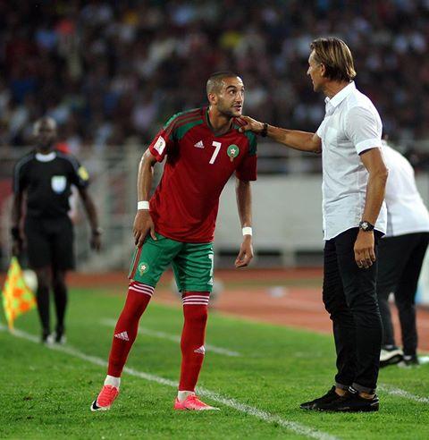 زياش أهدر أول ضربة جزاء في مساره مع المنتخب وسجل خمسة آخرها بالرباط