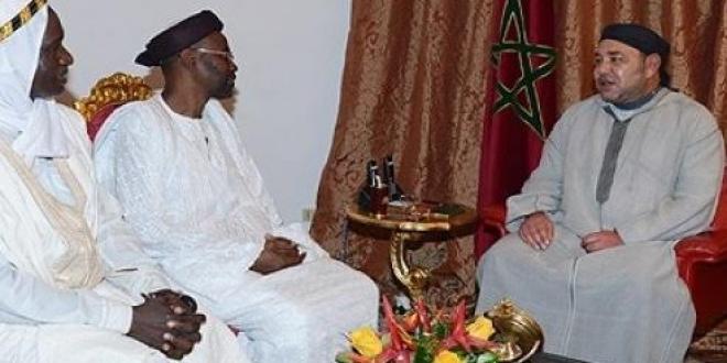 فيديو: برقية تعزية من الملك محمد السادس إلى أسرة المرحـوم الشيخ سيرين عبد العزيز سي