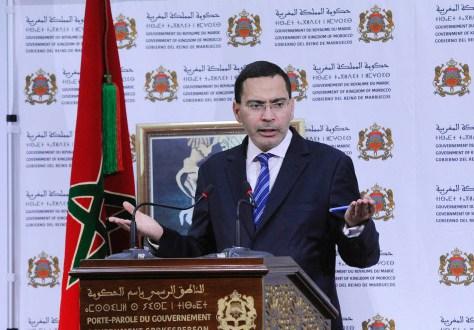 الخلفي: الحكومة المغربية مع الموقف الذي أعلن على مستوى إسبانيا إزاء استفتاء كاتالونيا