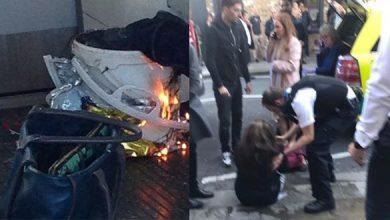 Photo of فيديو وصور: توقف الخدمة بين محطتين في لندن بعد انفجار في محطة مترو
